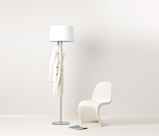 Coat stand & lamp by Cascando