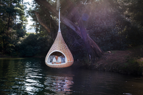 Nestrest Hanging lounger di DEDON