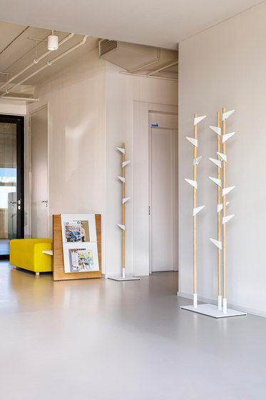 Bamboo 3 coat stand by Cascando