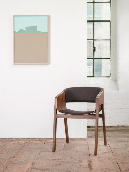 Merano Chair upholstered de TON