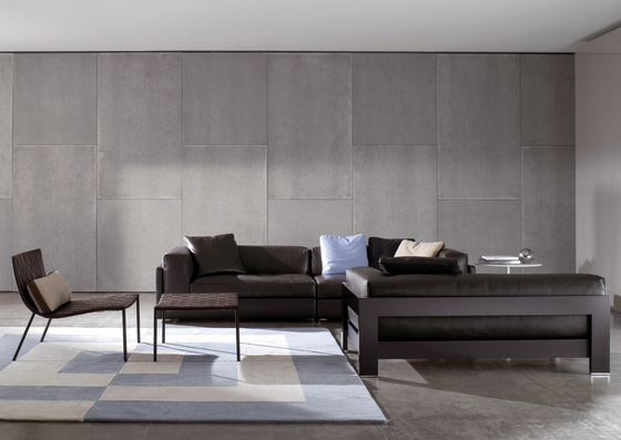 Alison Black Lac. Sofa by Minotti