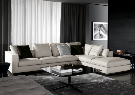 Andersen line by minotti sofa product for Minotti divani