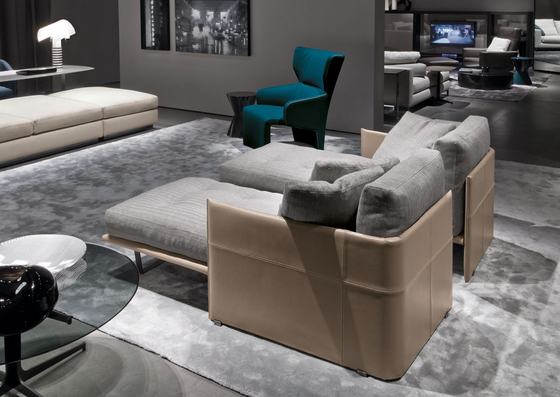 Luggage Sofa de Minotti