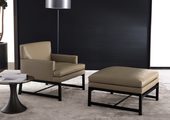 Flynt Armchair by Minotti