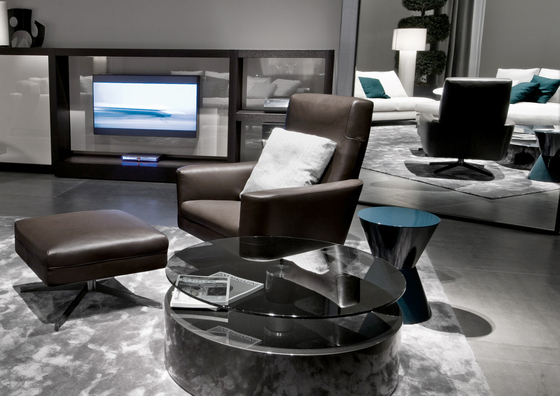 Parker Armchair by Minotti