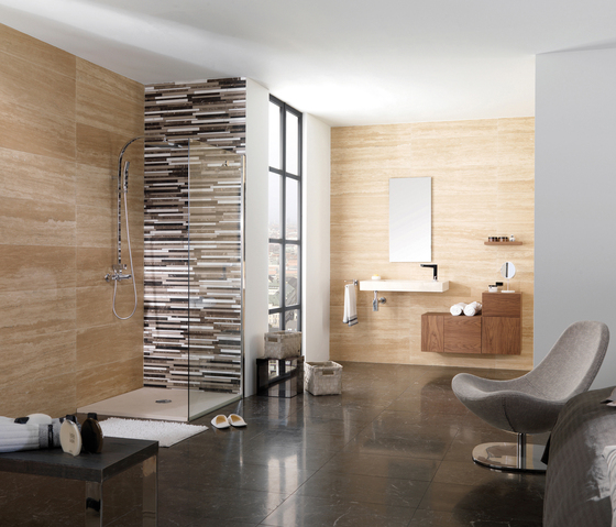Travertino Cross Cut de Porcelanosa