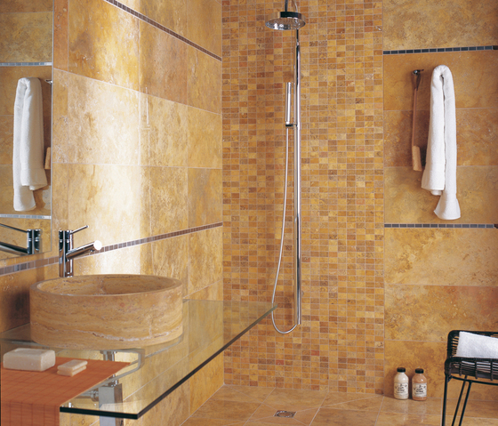 Travertino Moka de Porcelanosa