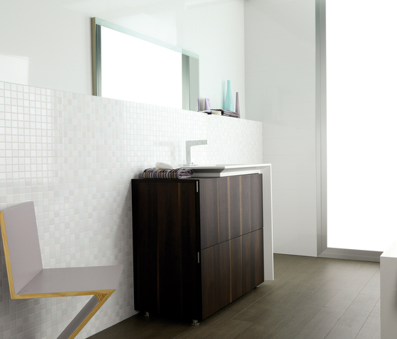 Mosaico Crystal Brown de Porcelanosa