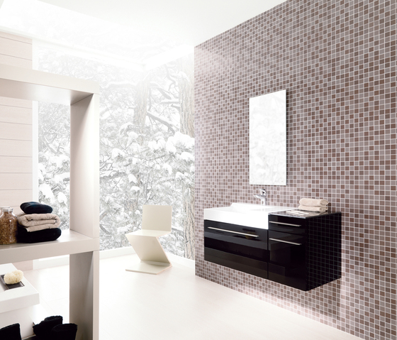 Mosaico Crystal Orange de Porcelanosa