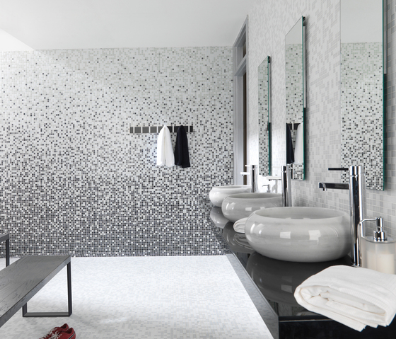Fashion Mix C White Green by Porcelanosa