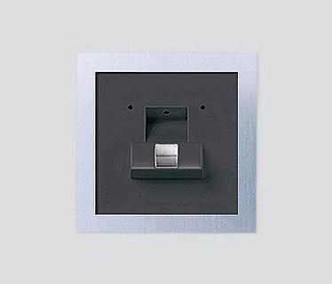 siedle steel fingerprint eingangsstationen von siedle architonic. Black Bedroom Furniture Sets. Home Design Ideas