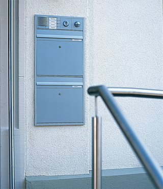 Siedle Vario flush-mounted letterbox by Siedle