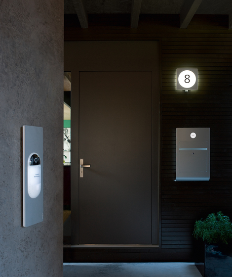 Siedle Select surface-mounted letterbox by Siedle