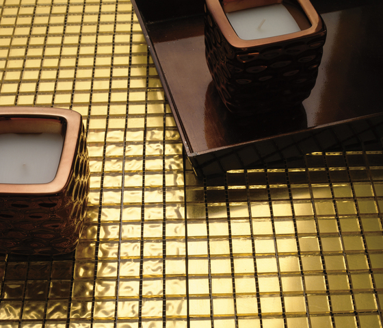 Fashion Gold -White 1x1 by Porcelanosa