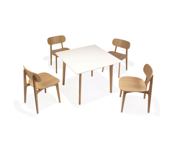 PLC dining table di Modus