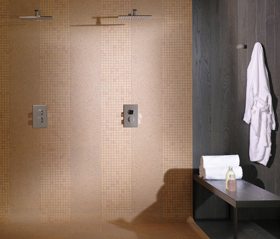 Noohn Terracotta Mosaics Brick Manual Miel by Porcelanosa