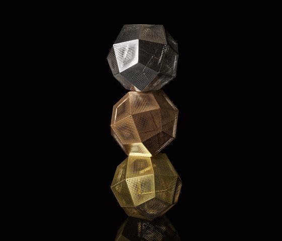 Etch Shade Brass by Tom Dixon