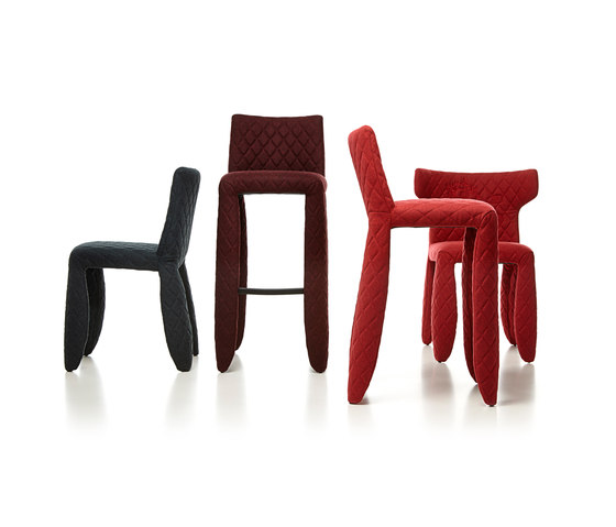 monster barstool low de moooi