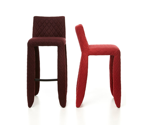 monster bar stool low divina melange de moooi