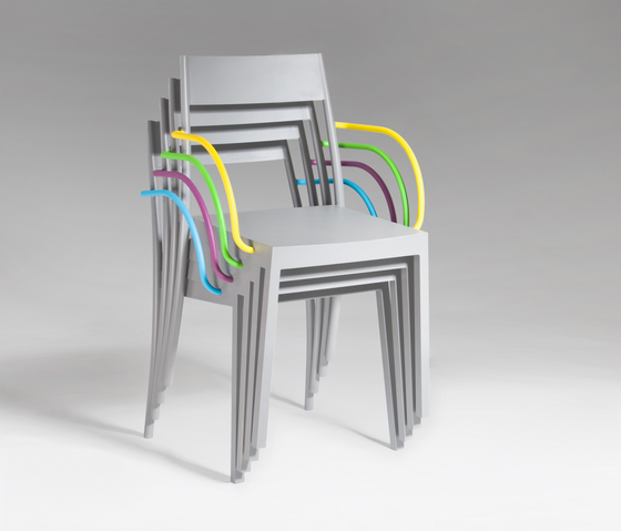 Amanda Bar Chair by steve & james