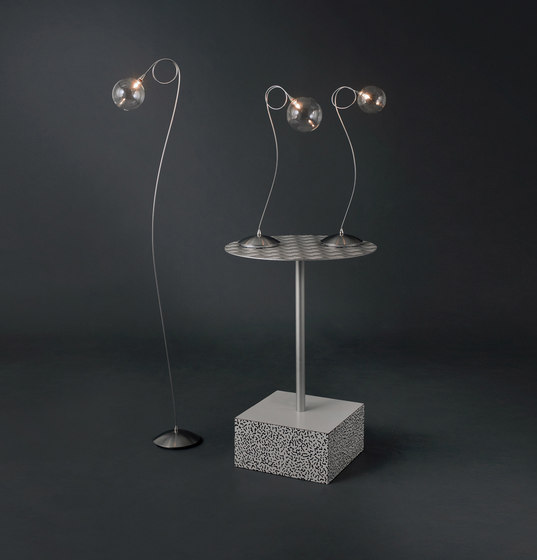 Bubbles floor lamp 9 by HARCO LOOR