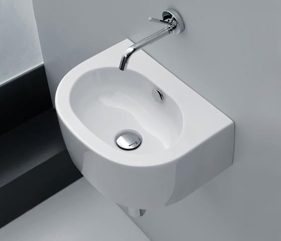 Flo lavabo 40 lavabi lavandini di kerasan architonic - Lavabo 40 cm profondita ...