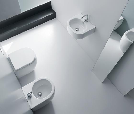 Flo di kerasan lavabo 40 lavabo 56 lavabo 60 - Lavabo 40 cm profondita ...