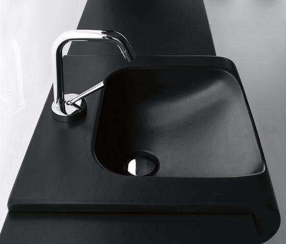 Inka Washbasin 40 + wall-mounted cabinet 40 by Kerasan