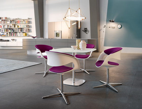 lox barstool bar stools by walter knoll architonic. Black Bedroom Furniture Sets. Home Design Ideas