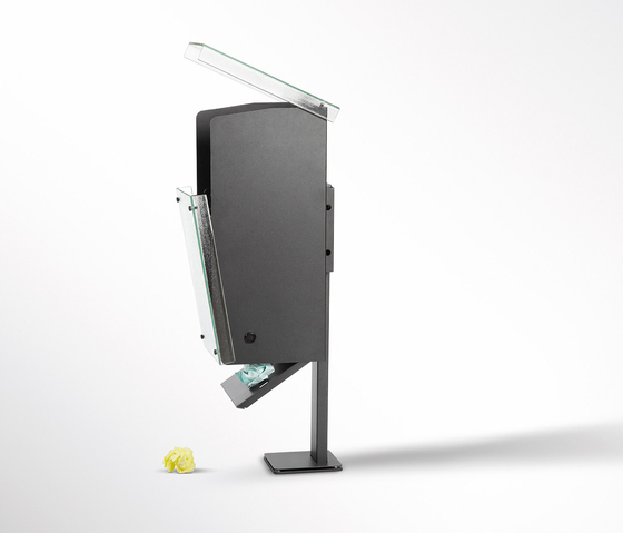 Luzerna Litter bin by Planning Sisplamo
