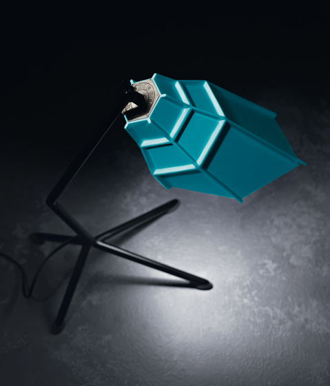 Pett table lightblue by Diesel by Foscarini