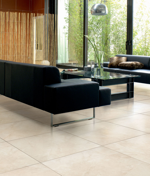 Stone-leader Ivory Floor tile by Refin