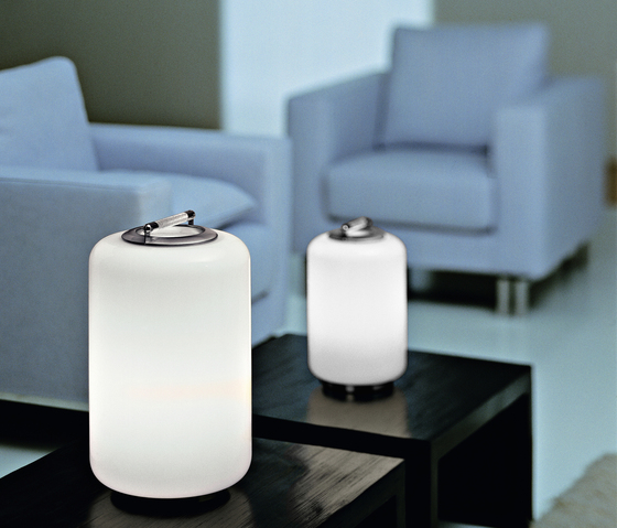 Air Can - table lamp von A.V. Mazzega