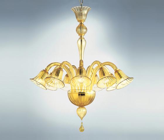 Ca' Balbi - 9 lights chandelier by A.V. Mazzega