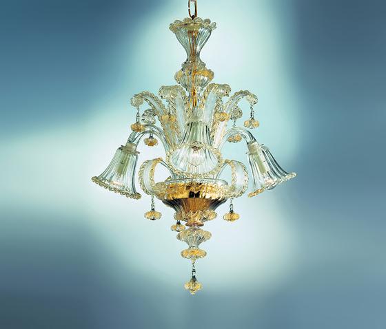 Ca' Loredan - chandelier by A.V. Mazzega