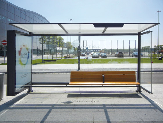 how to build a bus stop shelter