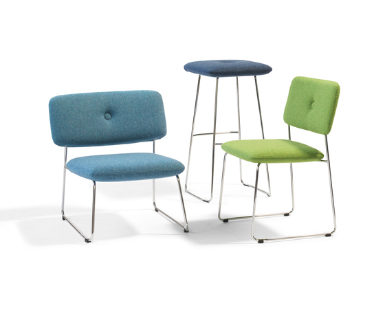 Dundra Chair S71A Upholstered Armchair by Blå Station