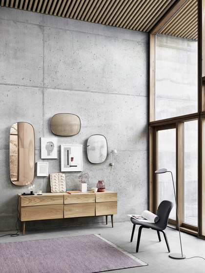 Reflect | sideboard large by Muuto