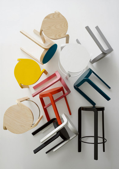 Spin bar stool di Swedese