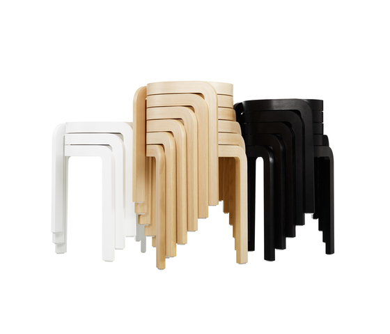 Spin stackable stool de Swedese