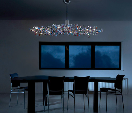Tiara Oval Pendant light 15 di HARCO LOOR