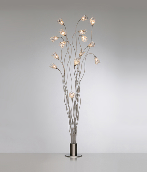 Tree flag floor lamp 15 by HARCO LOOR