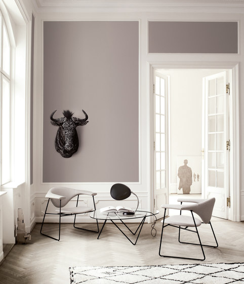 Masculo Chair – 4-legged metal version by GUBI