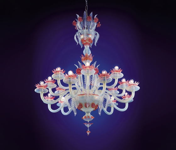 Ducale - chandelier - 16 lights by A.V. Mazzega