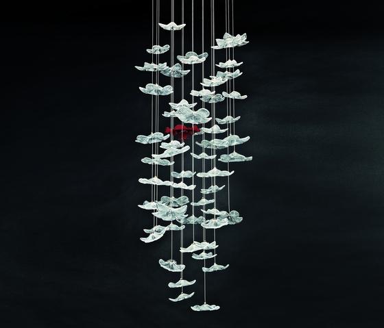 Oblivion - ceiling lamp - 7 lights by A.V. Mazzega