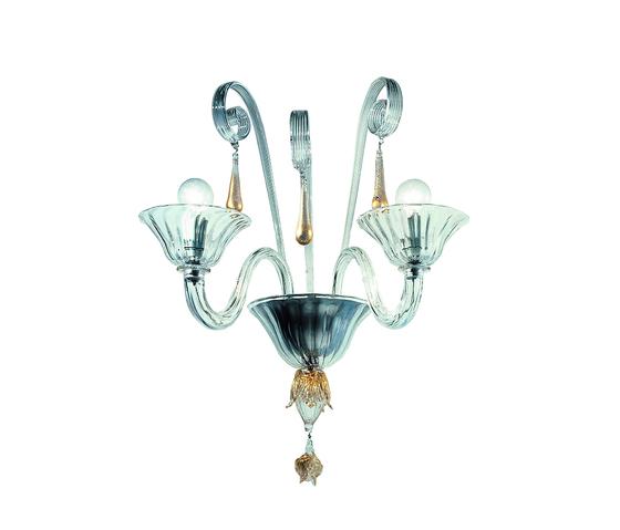 Melissa - wall lamp - 2 lights by A.V. Mazzega