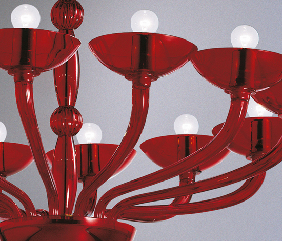 Ninfea - chandelier - 16 lights by A.V. Mazzega