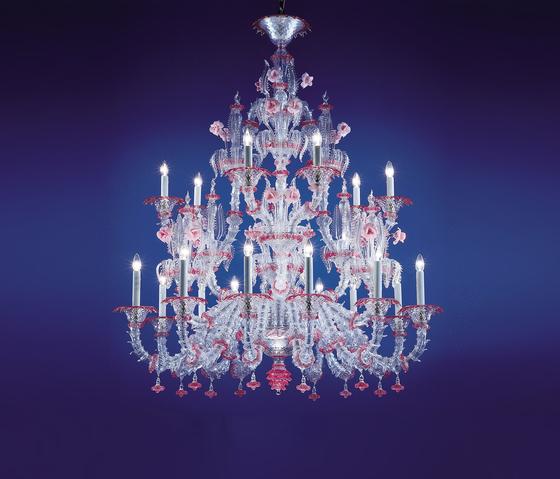 Rezzonico - chandelier - 9 lights by A.V. Mazzega