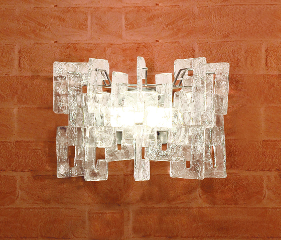 Sixty - wall lamp by A.V. Mazzega