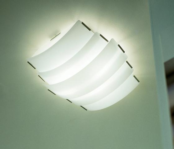 Trio - ceiling lamp by A.V. Mazzega